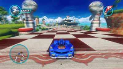Sonic & All-Stars Racing Transformed 2013 PC