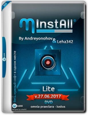 MInstAll Lite 2017 PC by Andreyonohov & Leha342