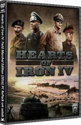 Hearts of Iron IV Field Marshal Edition 2016 PC by xatab